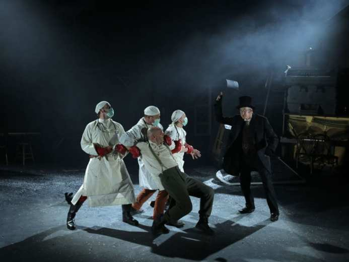 Woyzeck in Winter - Landmark Productions Sorted by name Barbican Centre