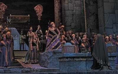 Rossini's Semiramide. Photo Ken Howard_Met Opera