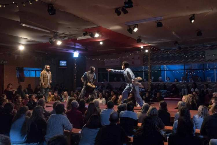 The Jungle Young Vic