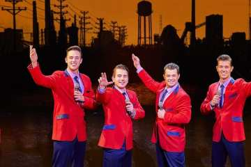 JERSEY BOYS UK Tour 2017/2018
