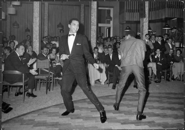 The 1960s - A New Year's party at the Uaddan Hotel & Casino.