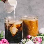 porter spiked cold brew iced coffee