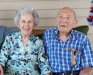 Happy 68th Wedding Anniversary Meamaw and Pappap!!