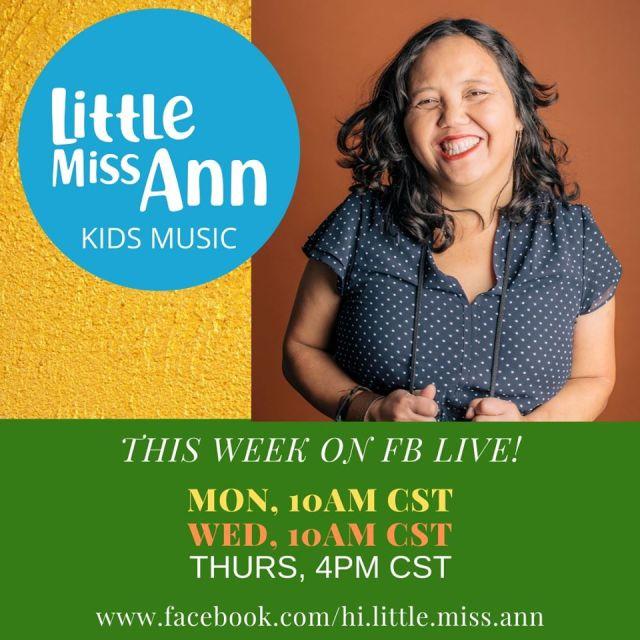 Little Miss Ann - Thursday 4:00 pm CDT