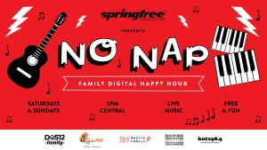 The No Nap Family Happy Hour
