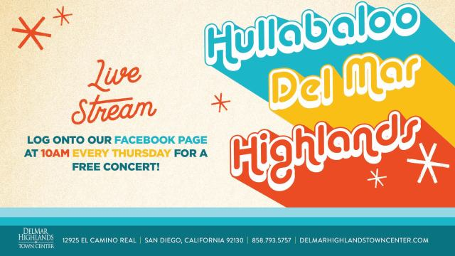 Hullabaloo - Thursday 10:00 am PDT