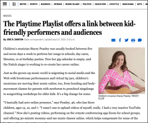 Did you see us in the Boston Globe?