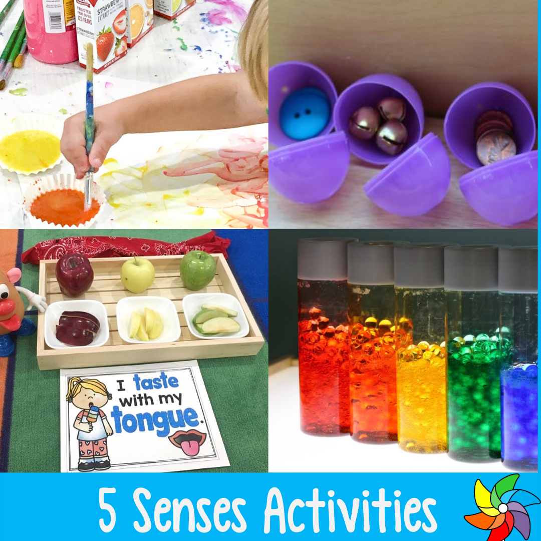15 Fabulous Five Senses Activities For Preschoolers