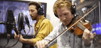 skin and bones performs live music NAMM