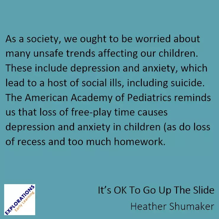 Homework And Anxiety Society >> It S Ok To Go Up The Slide Archives Playvolution Hq