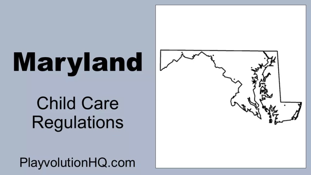 Licensing Regulations | Maryland