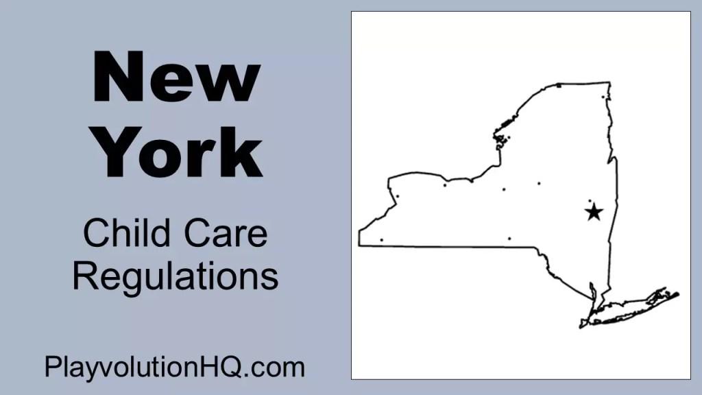 Licensing Regulations | New York