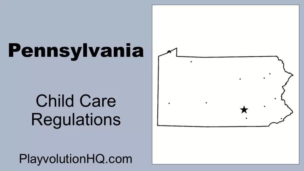 Licensing Regulations | Pennsylvania
