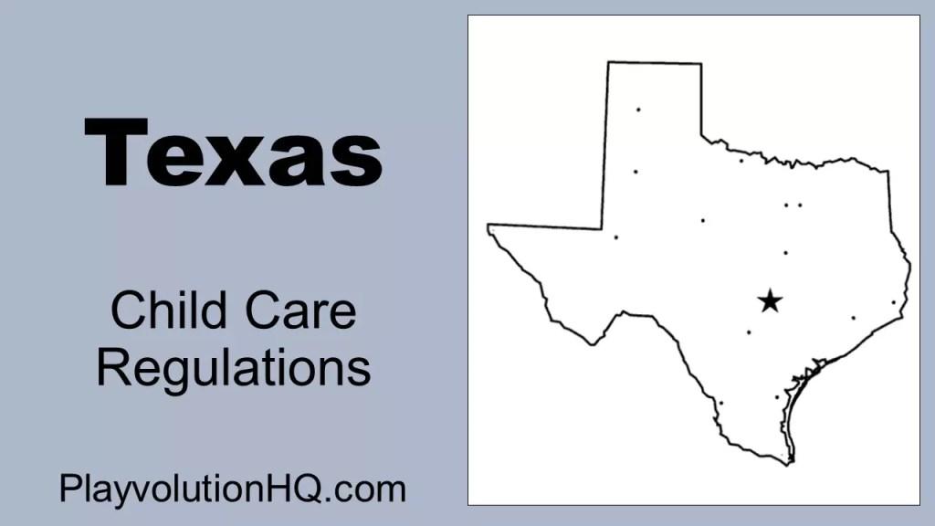 Licensing Regulations | Texas