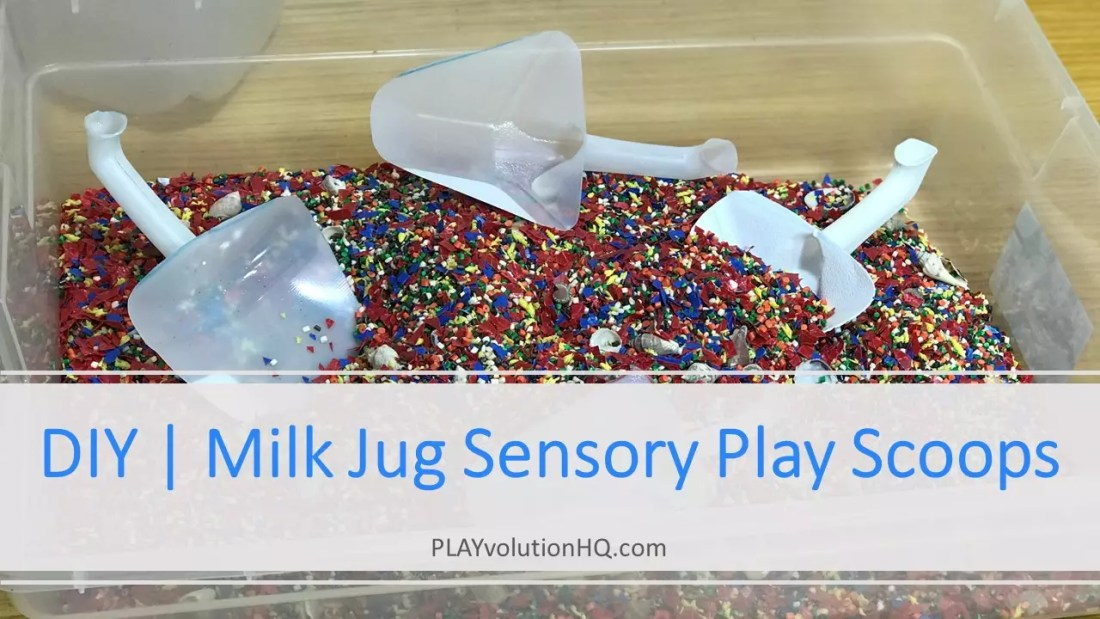 DIY | Milk Jug Sensory Play Scoops