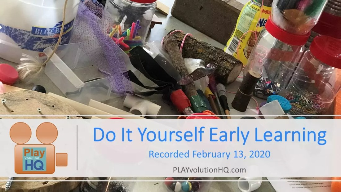 Do-It-Yourself-Early-Learning
