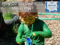 How Do You Deal With Messy Play?