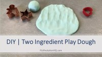 Two Ingredient Play Dough