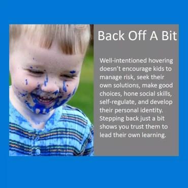 Back Off A Bit Poster Download