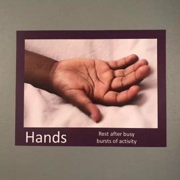 Hands Rest Poster