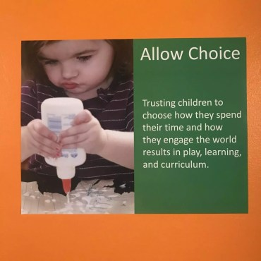 Allow Choice Poster