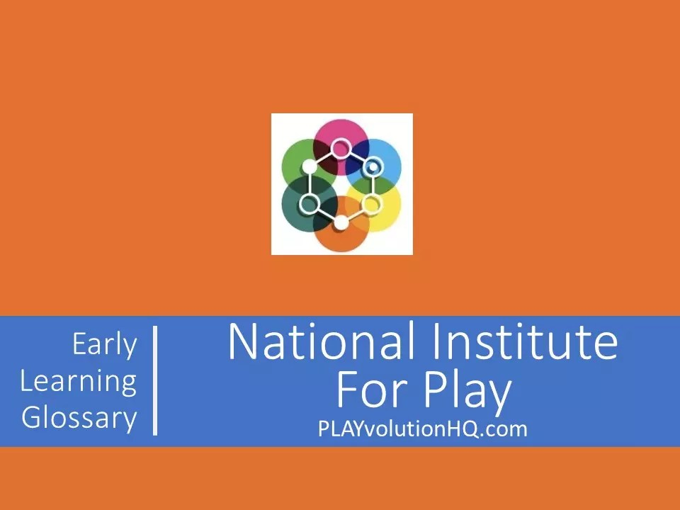 National Institute For Play