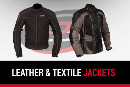 Leather & Textile Jackets