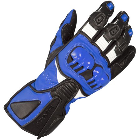 Armr Moto S235 Motorcycle Gloves Blue