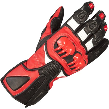 Armr Moto S235 Motorcycle Gloves Red