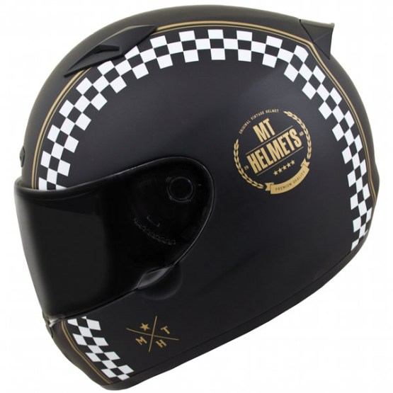 MT Matrix Cafe Racer Motorcycle Helmet