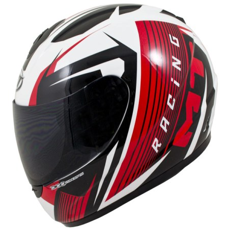 MT Thunder Axe Motorcycle Helmet Red