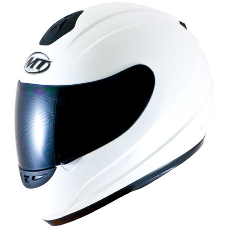 MT Thunder Motorcycle Helmet Gloss White