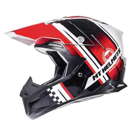 MT Synchrony Endurance Motocross Helmet Red