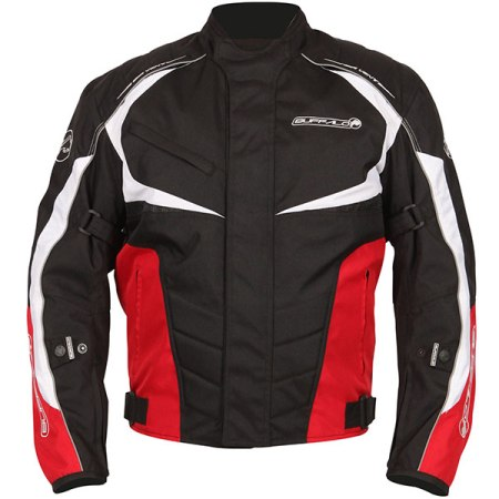 Buffalo Blitz Motorcycle Jacket Red