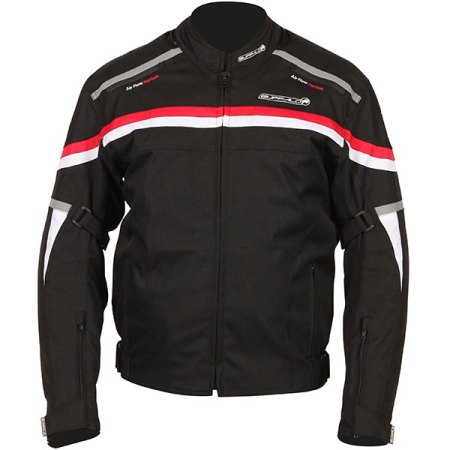 Buffalo Rebel Motorcycle Jacket Black