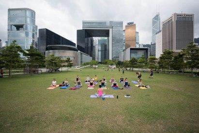 20150502 - Cora Tamar Park Yoga II - 011