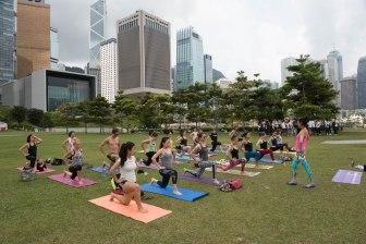 20150502 - Cora Tamar Park Yoga II - 101