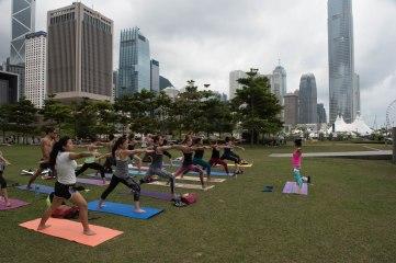 20150502 - Cora Tamar Park Yoga II - 209