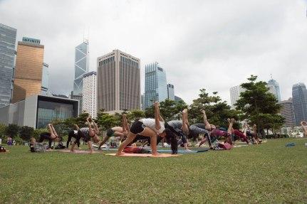 20150502 - Cora Tamar Park Yoga II - 218