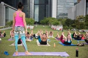 20150502 - Cora Tamar Park Yoga II - 251