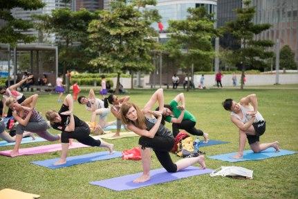 20150502 - Cora Tamar Park Yoga II - 267