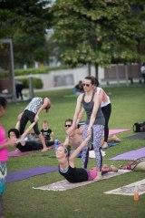 20150502 - Cora Tamar Park Yoga II - 376