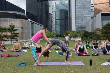 20150502 - Cora Tamar Park Yoga II - 479