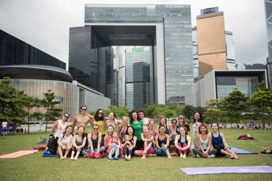 20150502 - Cora Tamar Park Yoga II - 549