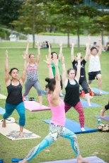 20150502 - Cora Tamar Park Yoga II - 846