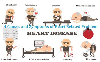 4 Causes and Symptoms of Heart Related Problem