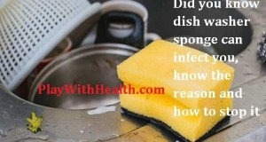 Did you know dish washer sponge can infect you, know the reason and how to stop it