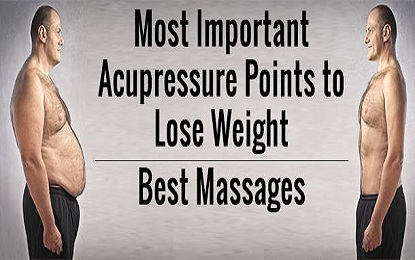 Did you know These 5 Acupressure Point for Weight Lose
