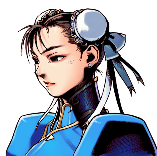 Chun Li Art From Street Fighter Ii Play Without Apology