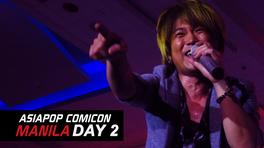 asiapop comic con day 2